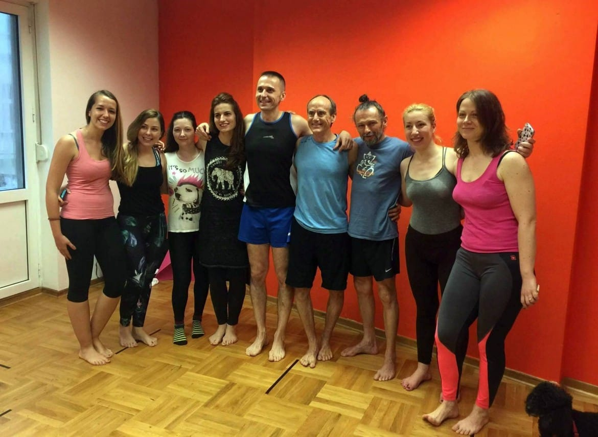 Teacher Training with David Swenson, Belgrade, 2016.
